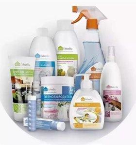Набор чистящих средств для дома
