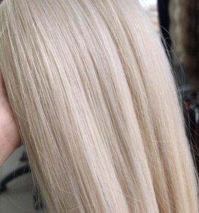 Волосы в срезах и на капсулах