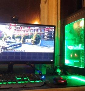 Игровой компьютер+игровой монитор