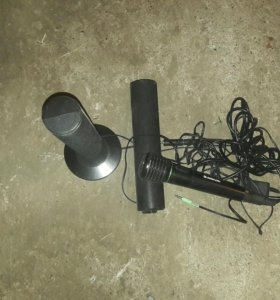 Колонки и микрофон