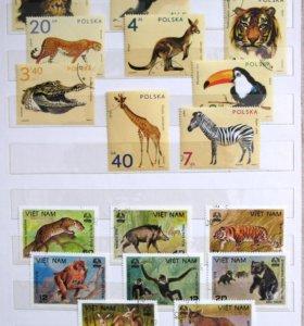 "марки ""Фауна"""