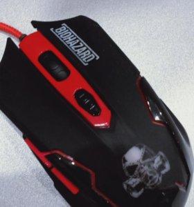 Мышка игровая biohazard