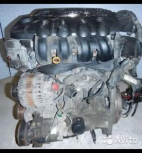 Двигатель nissan qashqai j10 2.0 mr20