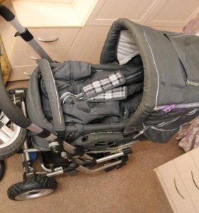 Детская коляска Baby care Manhattan + допы