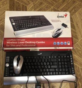 Genius Беспроводная мышь клавиатура в подарок