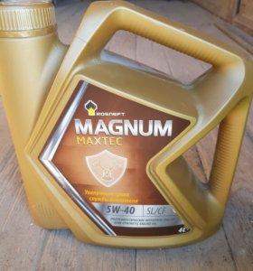 Масло Магнум Макстэк 5w40 полусинтетика 4литра