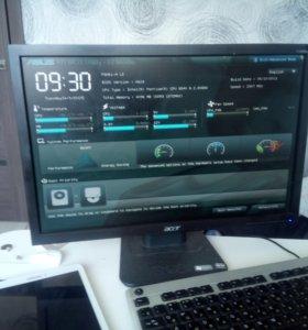 Игровой компьютер intel G840/память 4 гб/ GTS 450