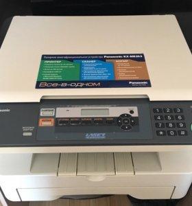МФУ Panasonic - 3в1: принтер, сканер, копир