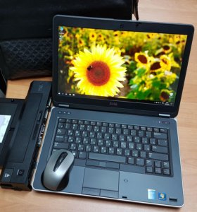 "14"" IPS Dell E6440 i7/8GB/AMD/256SSD/500HDD + Dock"