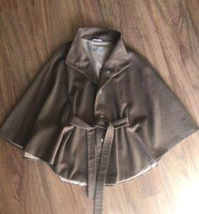 Пальто 100% шерсть новое