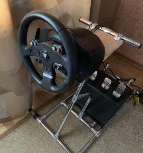 Руль Thrustmaster TMX PRO+ стойка для руля
