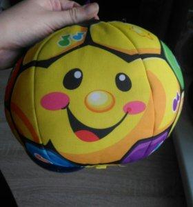 Мяч со звуком fisher price