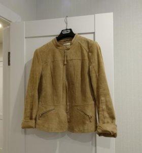 Замшевая куртка Mango