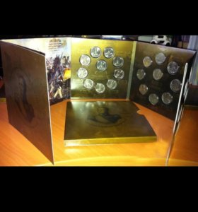 Набор монет Бородино. Обмен на ролики