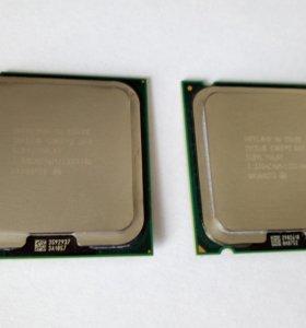 Core 2 Duo E8400, E8600