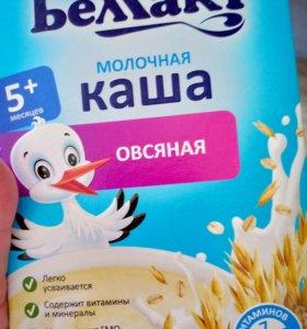 Молочная каша овсяная