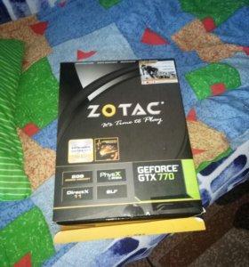 ZOTAC Geforce GTX 770 (графическая)