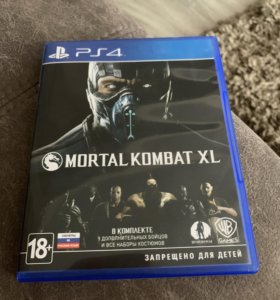 Mortal combat XL ps4