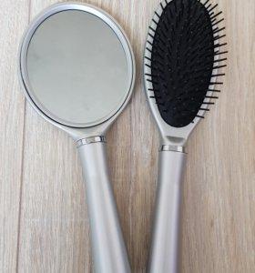 Расческа и зеркало