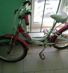 "Велосипед STELS girl розовый колеса 20"""