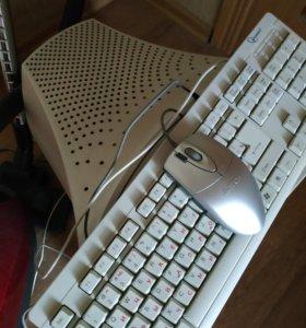 Клавиатура и мышка проводная