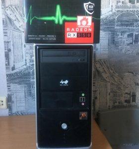 Игровой системный блок i5-2320/RX550 4Gb