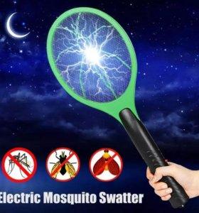 Ракетка от насекомых Электро-мухобойка