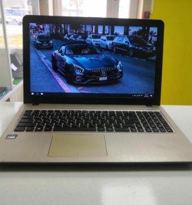Лёгкий ноутбук Asus X540YA (2 ядра 2Гб-озу 320Гб)