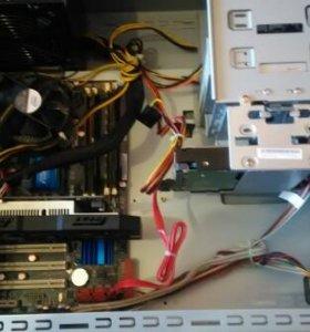 Компьютер Игровой 4 ядра/8Gb/750Ti 2Gb с Монитором