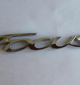 Эмблема Focus на Ford Focus 2011-14