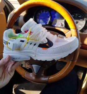 Кроссовки Off-White x Nike Air Presto White