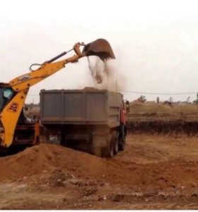 Глина , строительный песок
