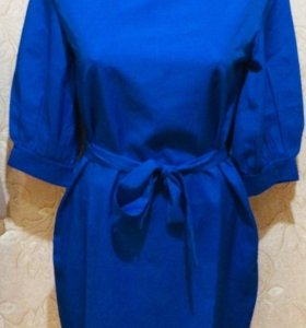 Платье синее 42 RUS