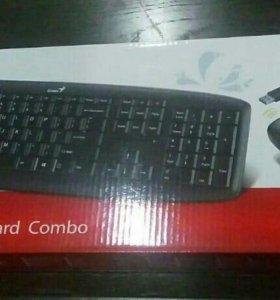 Беспроводная клавиатура+мышка