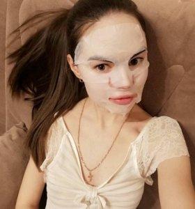 Тканевая маска для лица «Олива»