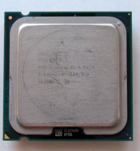 Pentium D 3,40GHz + RAM DDR2