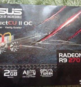 Asus AMD Radeon R9 270X 2gb