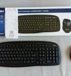 Беспроводная мышь + клавиатура