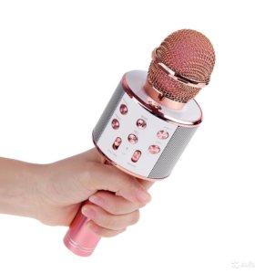 Микрофон со стерео колонкой