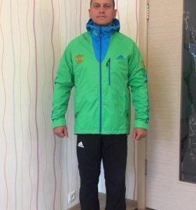 Продам новые куртки Adidas Сборной РФ на флисе
