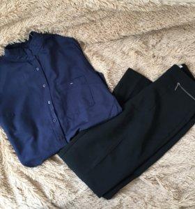 Набор: рубашка Dilvin Basic и брюки Calista