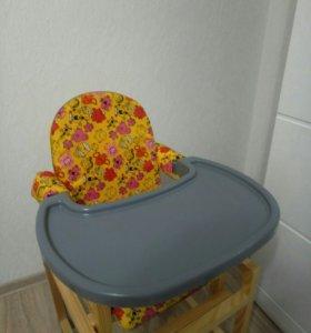 новый стульчик-столик для кормления или занятий с