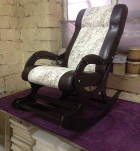 """Кресло качалка """"Гранд Люкс с подножкой"""""""