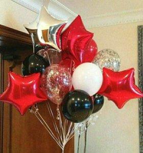 Воздушные шары (гелий)