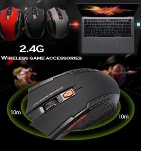 Беспроводная игровая мышка новая