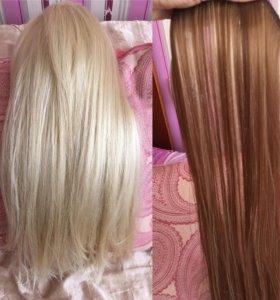 Волосы искусственные шиньон