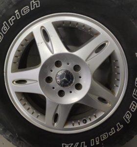 Диски на Mercedes G