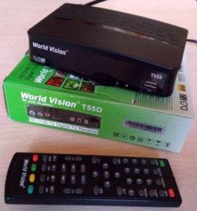Продам World Vision T55D