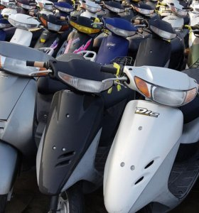 Скутеры из Японии HONDA YAMAHA SUZUKI