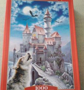 """Пазл """"Замок и волк"""""""